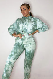 Tie Dye Tracksuit - Green PREORDER 2ND NOV