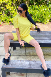 JYY Short Set - Yellow