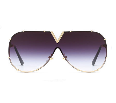 Darcy Sunglasses - Rose Gold