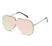 Cara Rose Gold Sunglasses