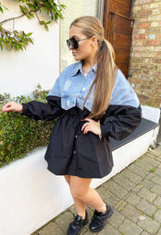 JYY Denim Jacket - Black