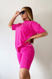 JYY Short Set - Fuschia