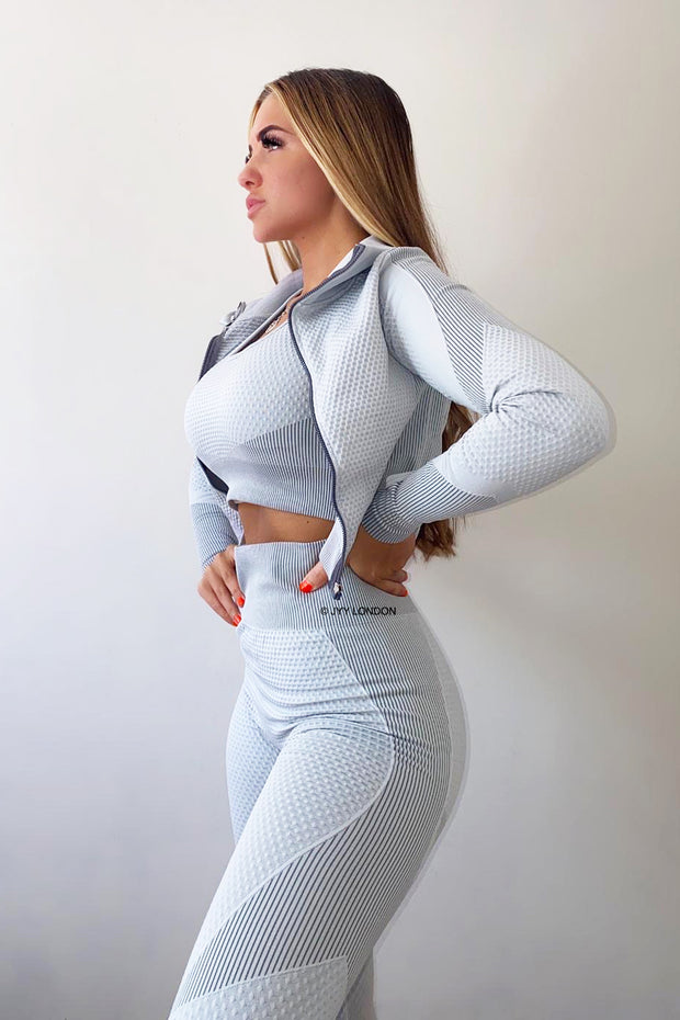 Sporty 3 Piece Set - Grey PREORDER 30TH JULY