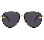 Honey Sunglasses - Black & Gold