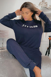 JYY Club Lounge Set - Navy
