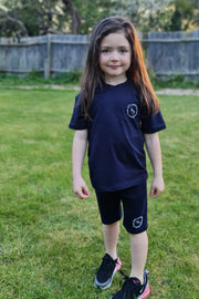 JYY KIDS Summer Club Short Set - Navy