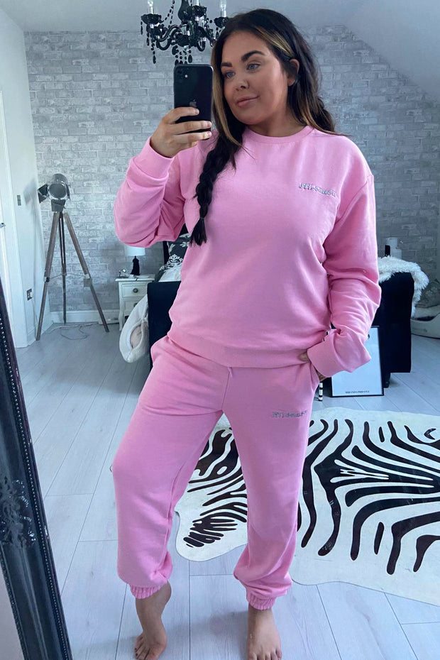 JYY London Trackie - Pink
