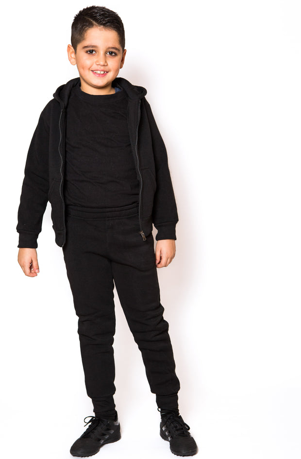 Knit Tracksuit - Black