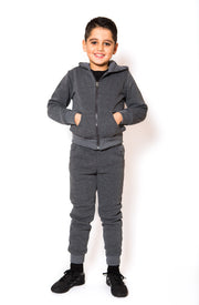 Knit Tracksuit - Dark Grey