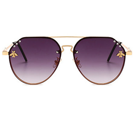 LA Sunglasses - Black&Cheetah