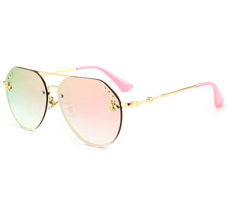 Lexy Sunglasses - Rose Gold
