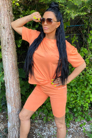 JYY Short Set - Orange