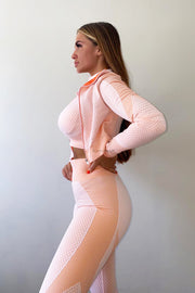 Sporty 3 Piece Set - Peach