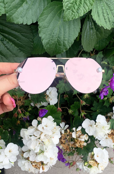 Pearl Sunglasses - Rose Gold PREORDER