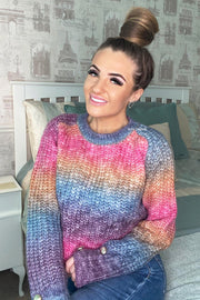 Rainbow Knit Jumper - Multi