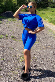 JYY Short Set - Royal Blue