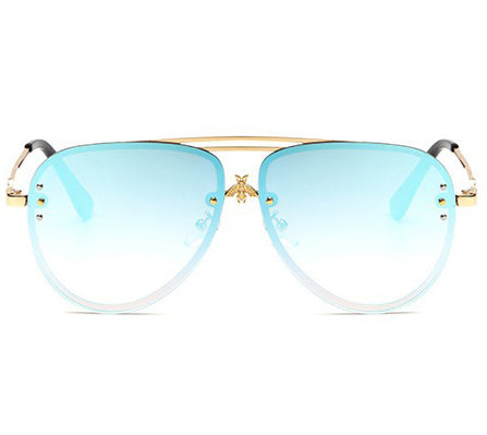 Poppy Blue Sunglasses
