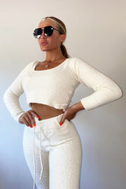 Teddy 2 Piece Set - Cream