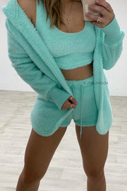 Teddy 3 Piece Set - Green