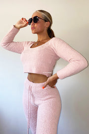 Teddy 2 Piece Set - Pink