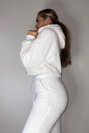 Teddy Tracksuit - White