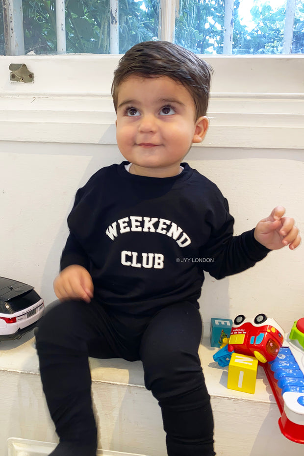 Kids Weekend Club Lounge Set - Black
