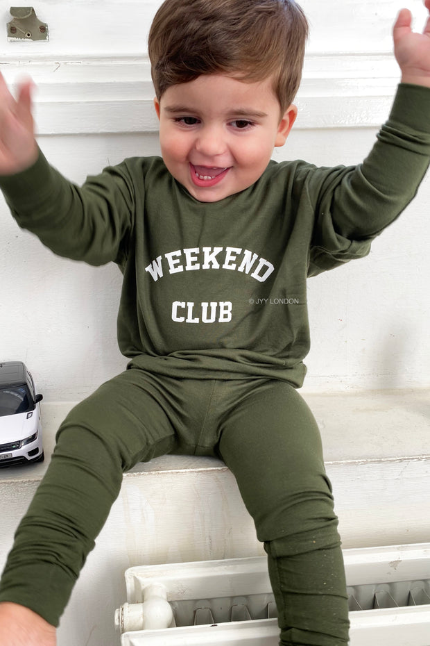 Kids Weekend Club Lounge Set - Khaki
