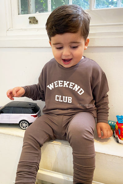 Kids Weekend Club Lounge Set - Mocha