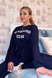 Weekend Club Lounge Set - Navy PREORDER 26TH NOV