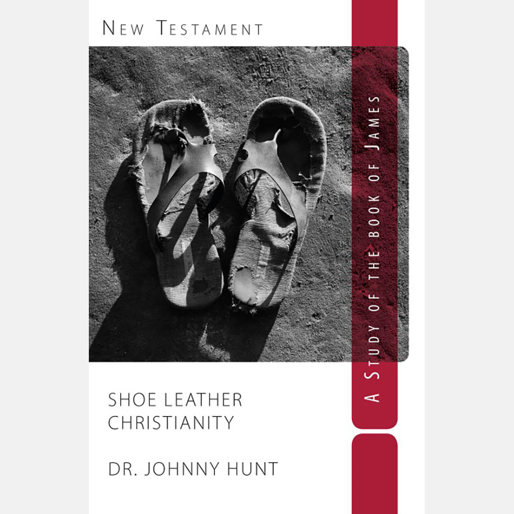 James:  Shoe Leather Christianity – case of 36
