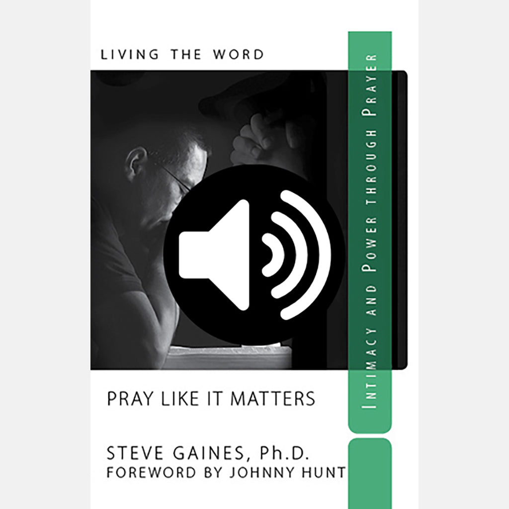 Pray like it Matters - Audio Commentary