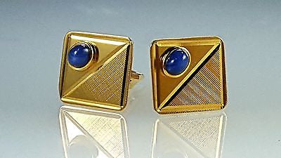 14k gold Gent's men's cuff link