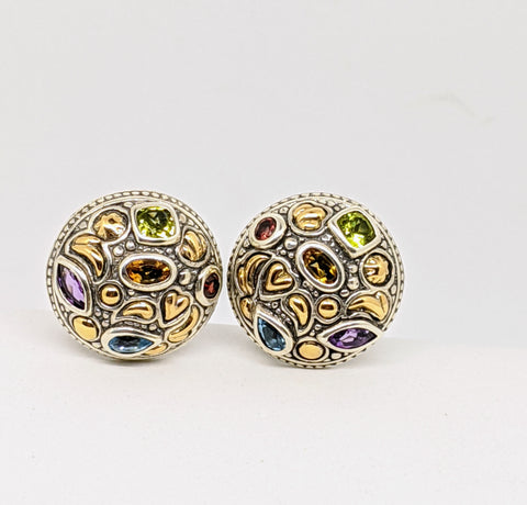 Multi color Earrings from Cydonia