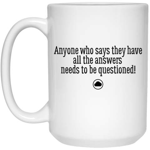 Answers | Coffee Mug - 15oz