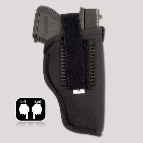 R series hip holster with velcro thumb break.  Glock, Ruger, Smith & Wesson, Taurus