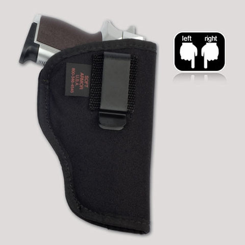 concealed carry in-the-pant gun holster.  IWB glock, ruger, smith & wesson, taurus