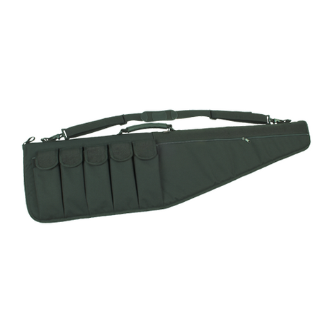 AR style rifle case with attached mag pouches