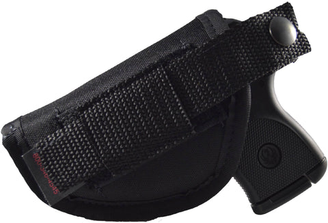 in-the-pant and hip holster for ruger lcp, sig p238, taurus tcp