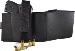 belly band holster for glock, ruger, springfield, sig sauer, smith & wesson