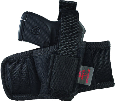 belt slide holster for glock, ruger, smith & wesson, sig sauer
