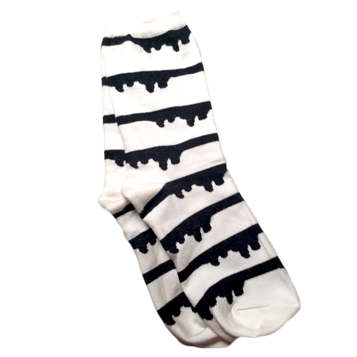 ink stripe socks