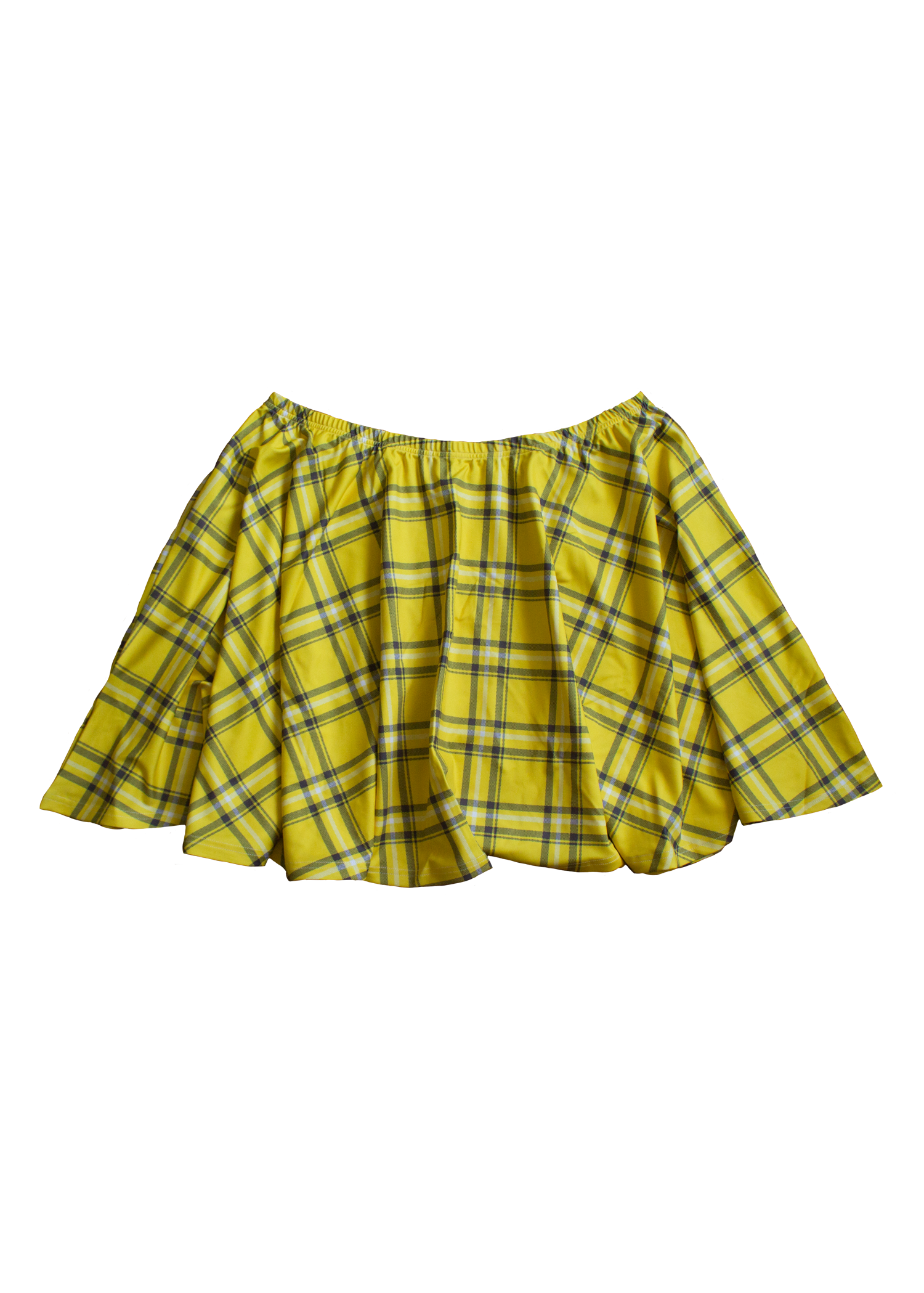 clueless plaid skater skirt