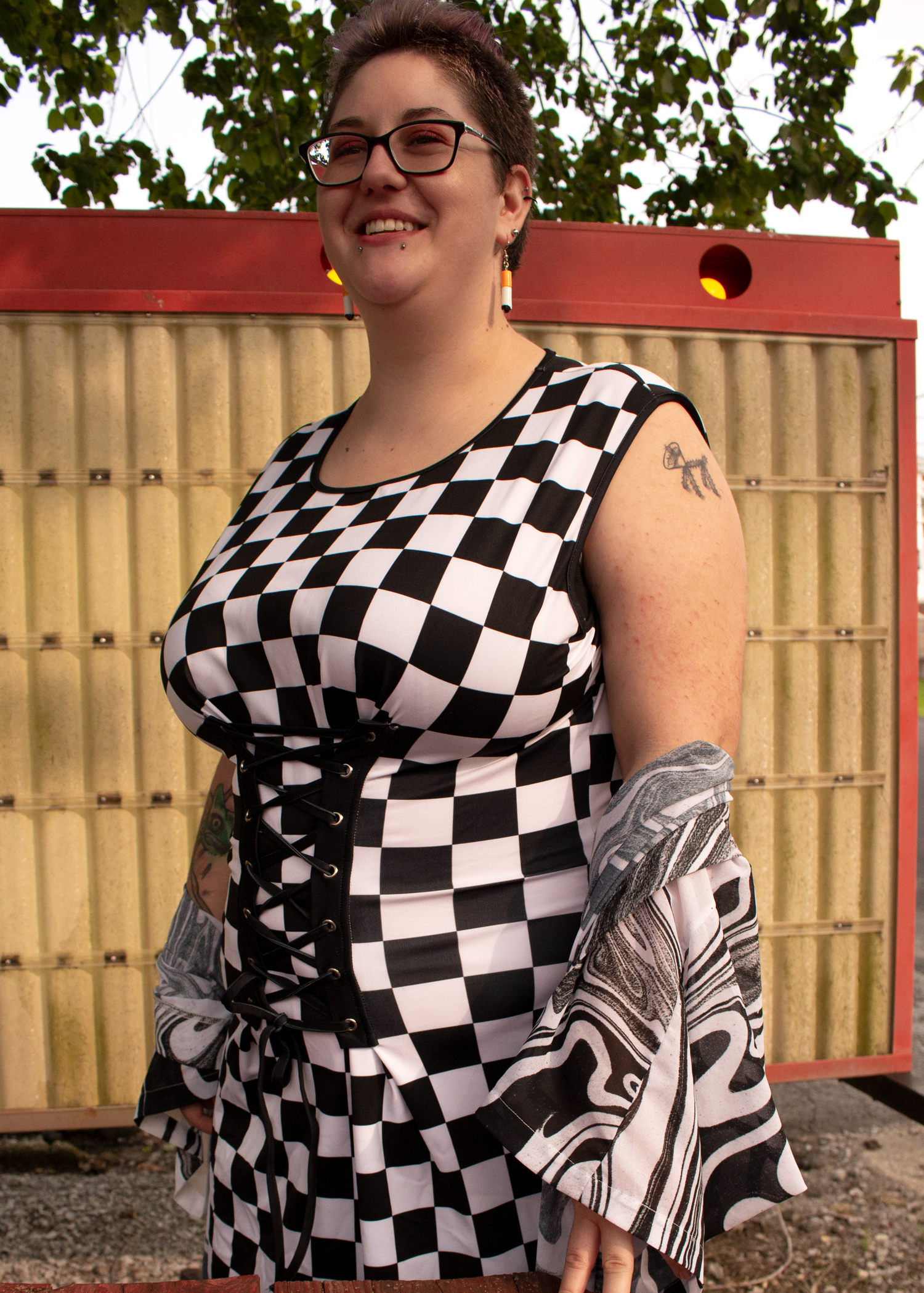 Demolition Derby Corset Dress
