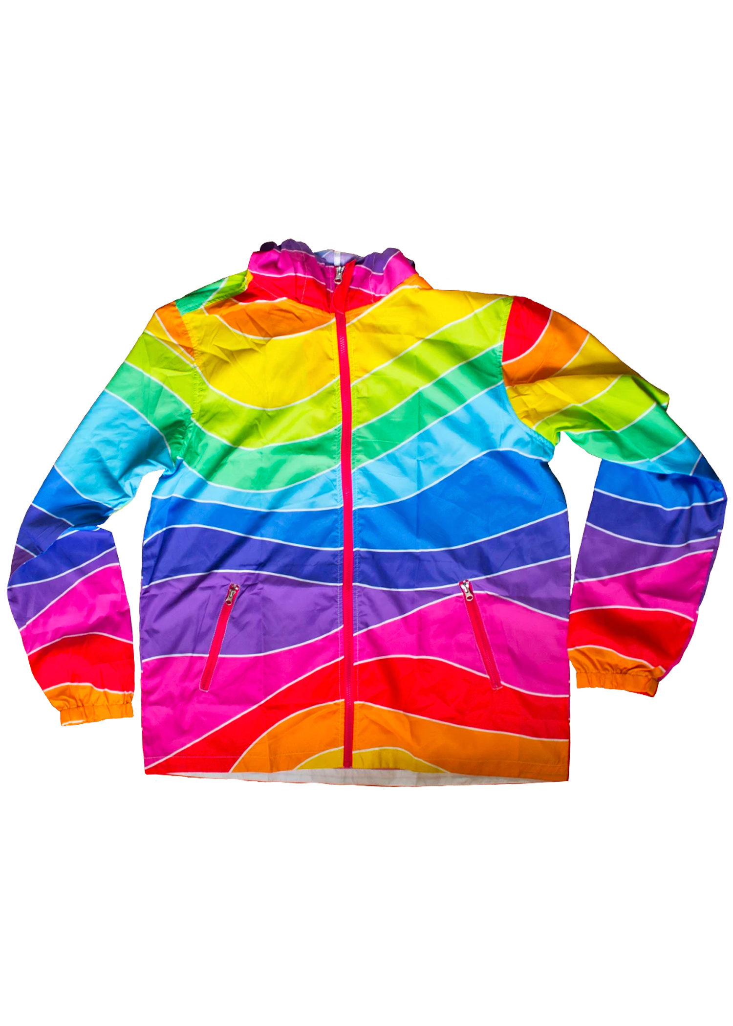 fruit stripe windbreaker