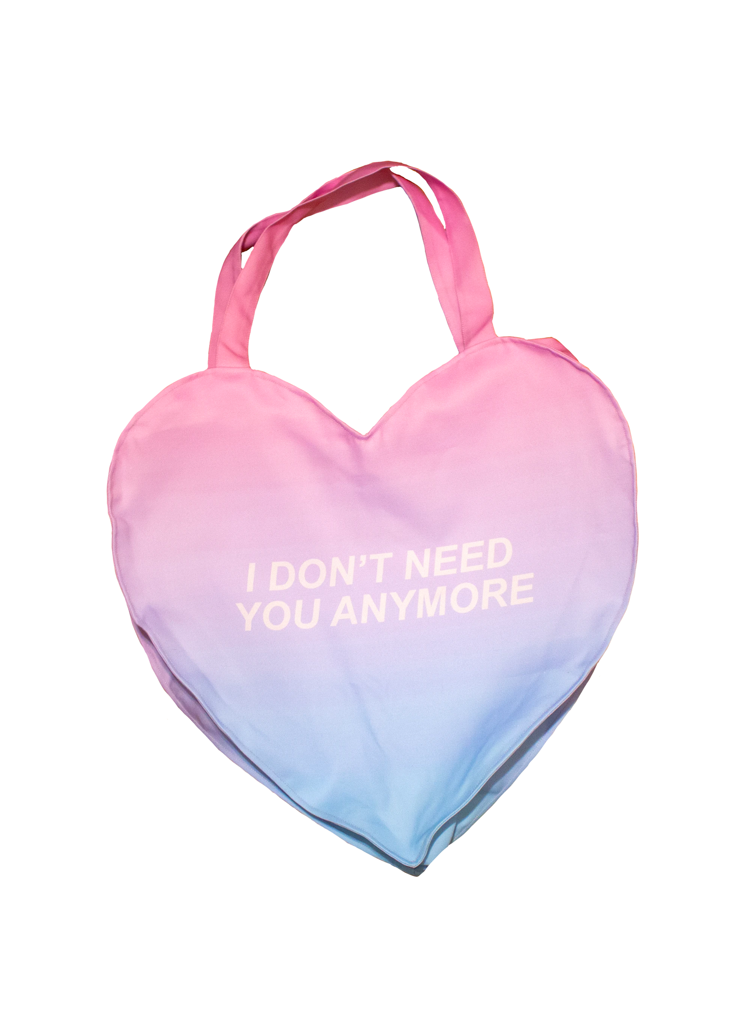 Moved On Giant Heart Tote