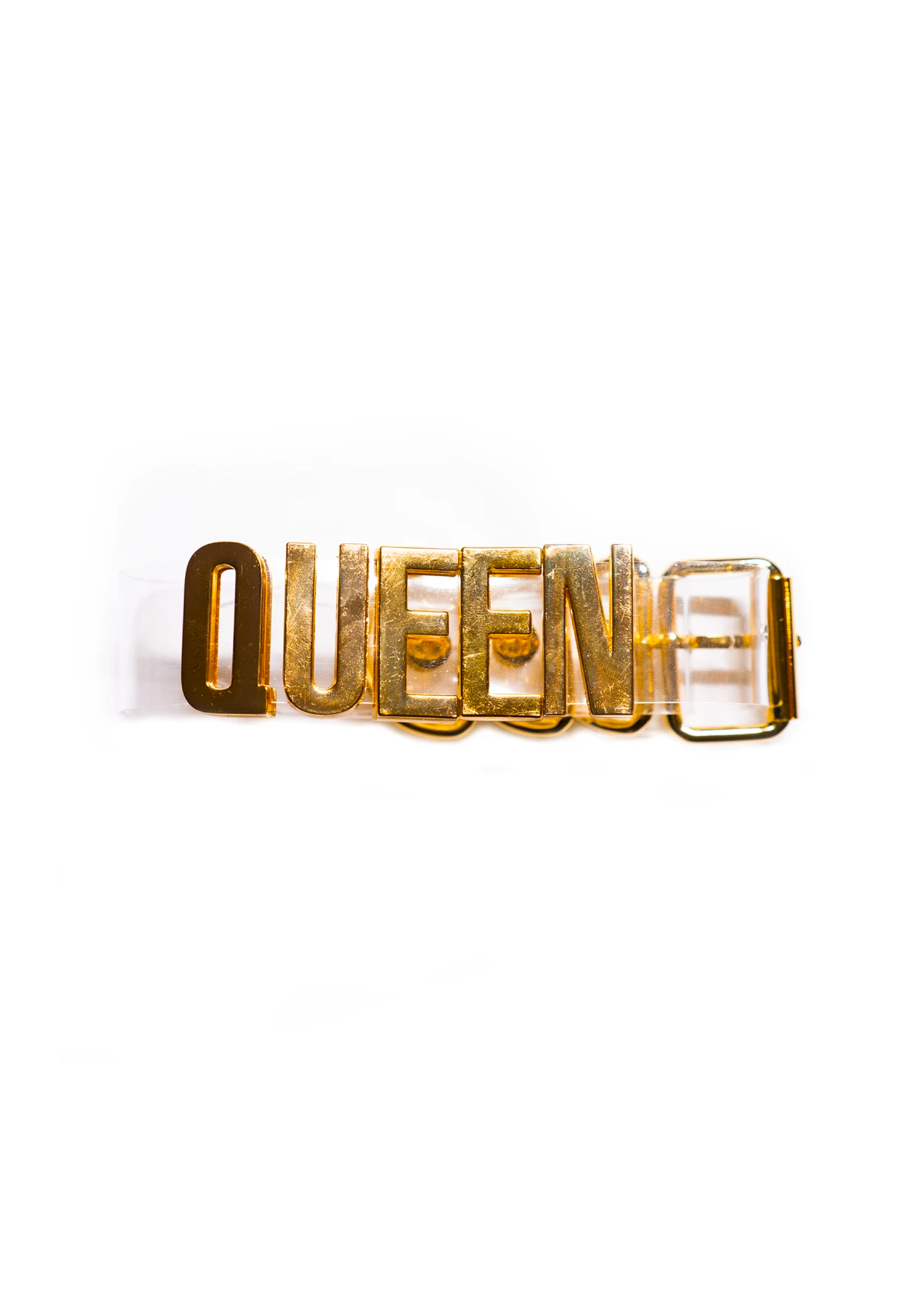 gold queen choker