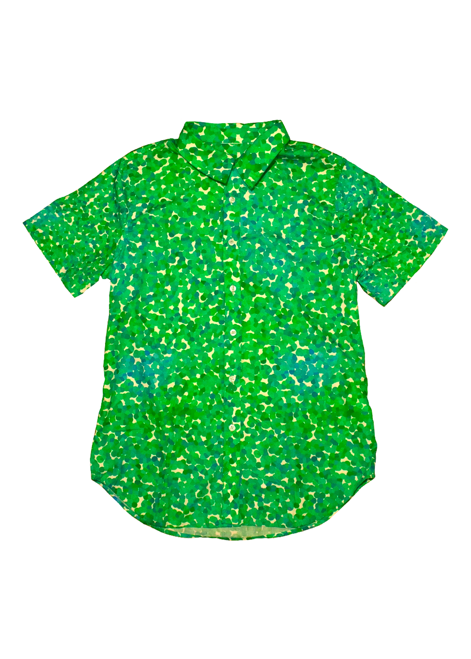 Seurat Dad Shirt in Foliage