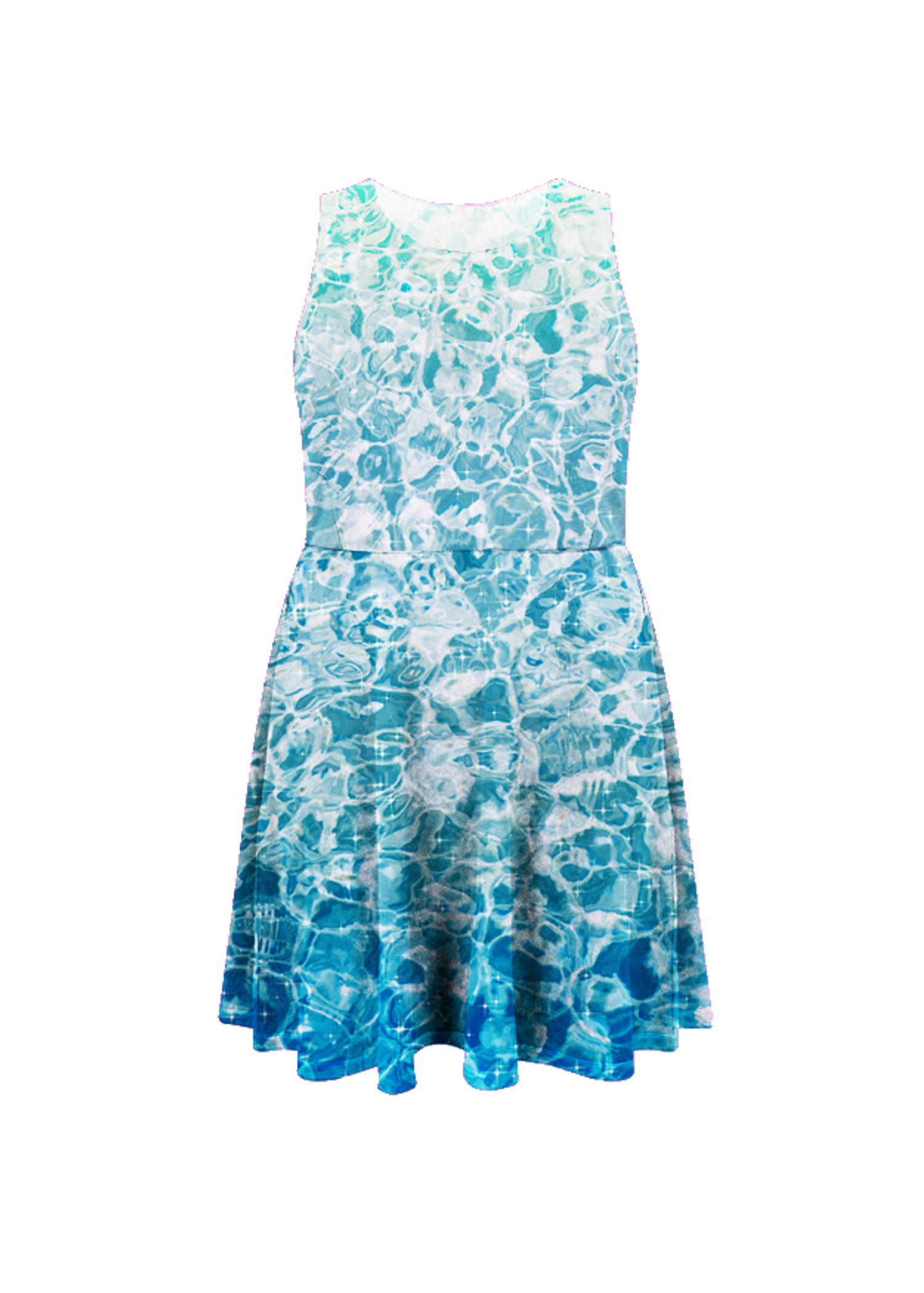 sparkling water dress
