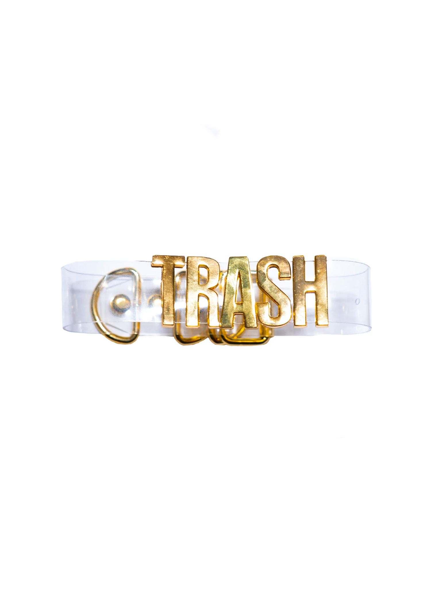 gold trash choker