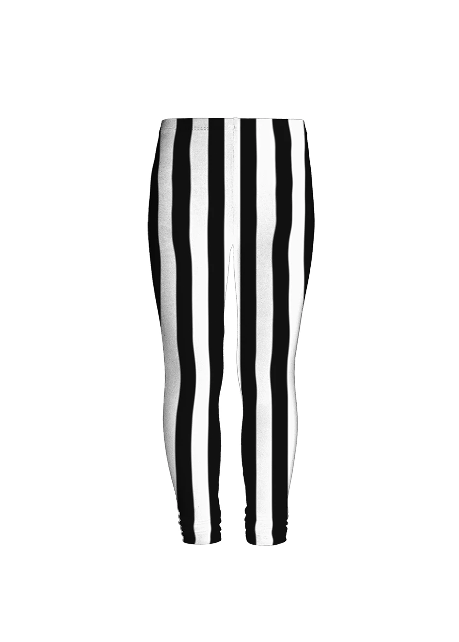velvet beetlejuice stripe leggings
